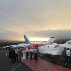 Dassault Falcon Jet and CAE Confirm AEP Participation